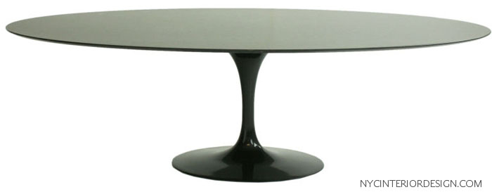 MODERN HIGH GLOSS LACQUER DINING TABLE