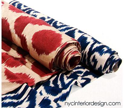 indian fabrics_ ikat