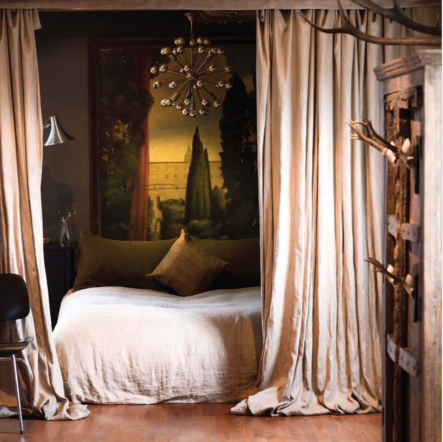 drapes as room separators