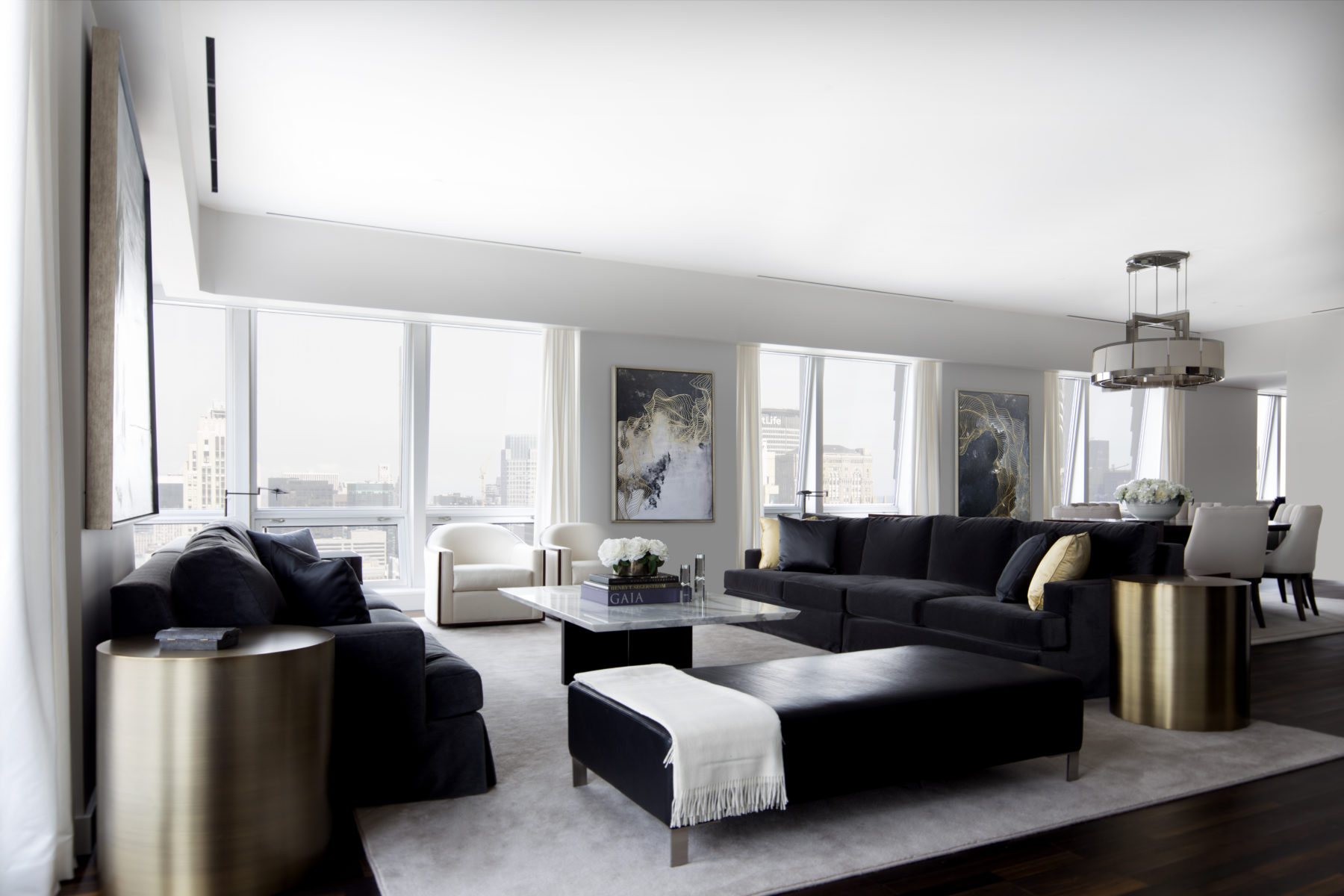 Midtown residence nyc interior design for Nyc interior designer