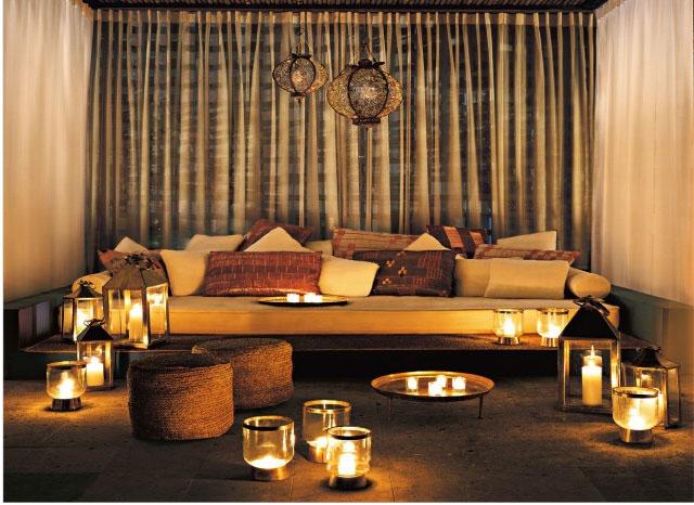 Moroccan outdoor space nyc interior design - Moroccan interior design ...