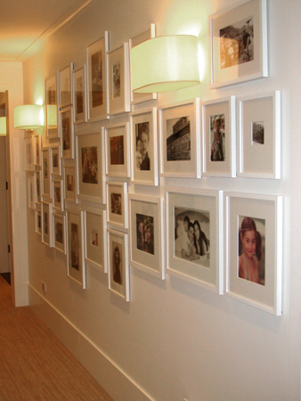 Picture walls archives nyc interior design - Faire un mur de photos decoration ...