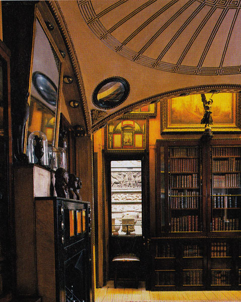Soho House Nyc >> Breakfast Room at Sir John Soane's House - NYC Interior Design